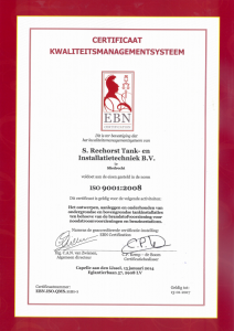 certificaat kwaliteitsmanagementsysteem